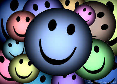 Living it up on your blog with smileys!